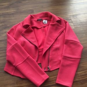 Torrid Pink Moto Jacket
